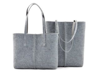 China Biodegradable Non Woven Felt Shopping Bags Support 43 Colors For Women supplier