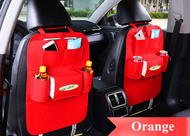 Multi Color Car Seat Back Storage Bag Using Eco Friendly Felt Material