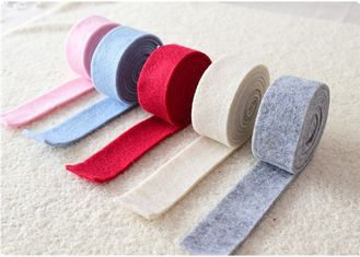 China 43 Various Color Felt Fabric Crafts Wide 3cm Length 5m For Decoration supplier