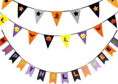 China OEM 43 Colors Felt Holiday Decorations Halloween Garland For Halloween supplier