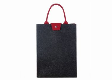 buy 15.6 Inch Felt Laptop Sleeve , Easy Carrying Handbags For Work Office online manufacturer